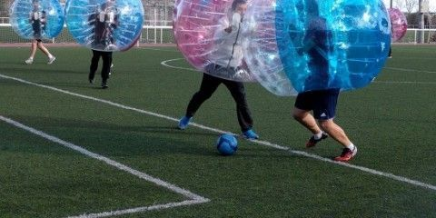 Fútbol Burbuja en Madrid con Bubble Sports